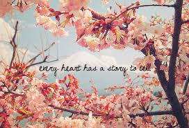 love pretty tree quote heart flowers cherry blossom weheartit