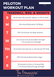 combine peloton with other workouts