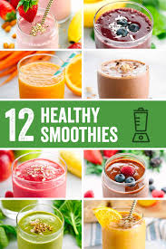 Roundup: Easy Five-Minute Healthy Smoothie Recipes - Jessica Gavin