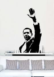 Amazon Com Vinyl Wall Art Decal Sticker Barack Obama Inspirational Decal Everything Else