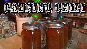 canning chili pressure canning you