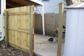 Building A Fence Gate 6 Steps With Pictures Instructables