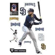 Eric Hosmer Life Size Officially Licensed Mlb Removable Wall Decal Eric Hosmer Hosmer Removable Wall Decals