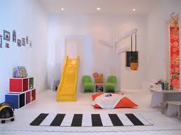 Little Boy S Traditional Playroom Yellow Slide Zebra Pedestrian Crossing Rug On Whiteinterior Design Ideas