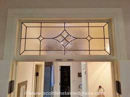 transom stained glass designs