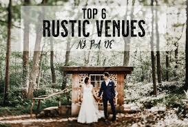 top 6 rustic venues nj de pa
