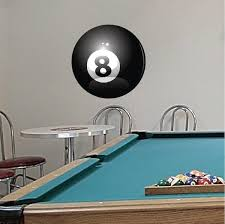 Bowling Wall Decal Eight Ball Decal Removable Bowling Wall Sticker American Wall Designs