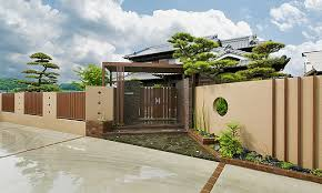 File Outdoor Facility Closed Japanese Style Fence Jpg Wikimedia Commons