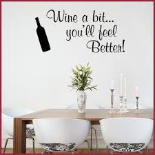 Kitchen Wall Sticker Wine A Bit Funny Decals Kitchen Wall Decals Kitchen Wall Stickers Kitchen Wall