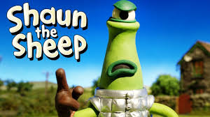 Caught Short Alien - Shaun the Sheep