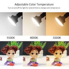 Đèn LED tròn 3 màu andoer E27 40W 5500k 3200k 4000k giảm chỉ còn 203,404 đ