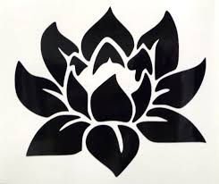 Lotus Flower 5 Girly Car Truck Window Vinyl Decal Sticker Choose 12 Colors For Sale Online Ebay
