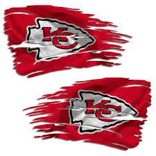 Football Nfl Kansas City Chiefs Logo 4x4 Perfect Cut Car Window Decal See Description Sports Mem Cards Fan Shop Cub Co Jp