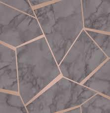 marble wallpaper grey rose gold