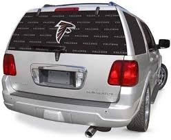Amazon Com Atlanta Falcons Full Rear Auto Window Film Decal Graphics Sticker Football Sports Outdoors
