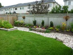 Backyard Landscaping Ideas With Fencing Wilson Rose Garden