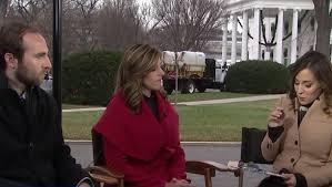 Hallie Jackson sets up shop on White House lawn for 'MSNBC Live ...