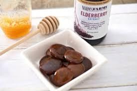 homemade elderberry cough drops
