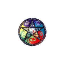 Pentagram Wicca Window Sticker Gypsy Rose