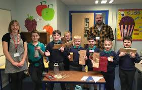 Buzz' of excitement for Ysgol Hafan y Mor pupils in Tenby | News | Tenby  Observer