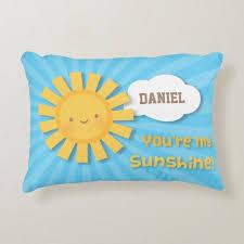 Cute You Are My Sunshine Kids Room Decor Pillow Zazzle Com