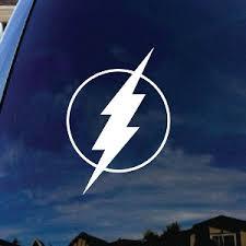 Flash Bolt Comic Superhero Car Window Vinyl Decal Sticker