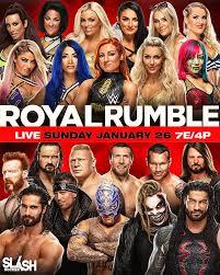 WWE Royal Rumble 2020 Poster by WWESlashrocker54 on DeviantArt