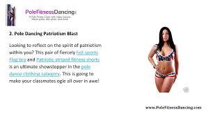 markperkine 4 pole dancing clothing
