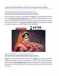 bridal makeup artist in udaipur stylo salon