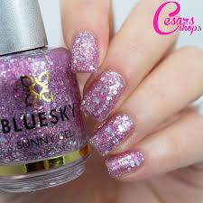 bluesky nail polish sunny gel