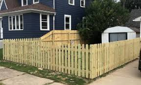 Pressure Treated Sadler Fence And Staining