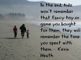 spend quality time your kids it makes a difference in their