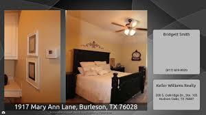 1917 Mary Ann Lane, Burleson, TX 76028 - YouTube