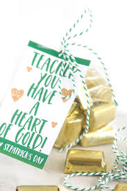 heart of gold st patrick s day gift idea