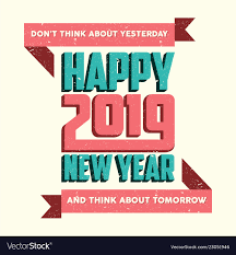 happy new year quote royalty vector image