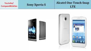 Sony Xperia S VS Alcatel One Touch Snap ...