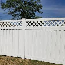 Weatherables Clearwater 6 Ft H X 8 Ft W White Vinyl Privacy Fence Panel Kit Pwpr Panellat 6x8 The Home Depot