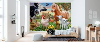 Farm Animals For Kids Affordable Wall Mural Photowall