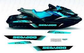 Seadoo Gtr 215 Replacement Graphic Kit Sea Doo Hull Decal Boat Gtx Stickers 56 82 Picclick