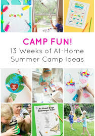 Camp Fun 13 At Home Summer Camp Themes Design Improvised