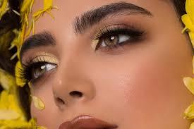 smokey eye makeup and green eyes