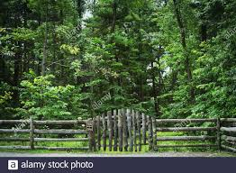 Log Fence High Resolution Stock Photography And Images Alamy