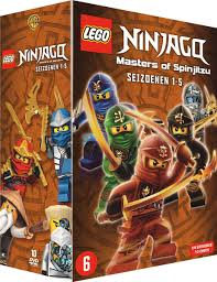 bol.com   LEGO Ninjago : Masters Of Spinjitzu - Seizoen 1 t/m 5 ...