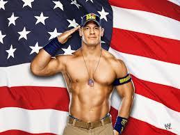 wwe john cena american flag