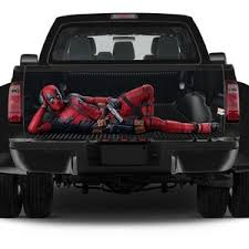 Vinyl Car Hood Full Color Wrap Graphics Decal Deadpool Sticker Etsy