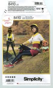 8410 Simplicity Costume Pokemon Go Trainer NEW sewing