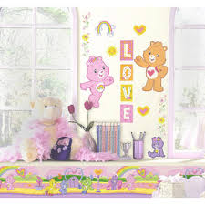 24pc Care Bears Love Accent Wall Stickers Decal Set