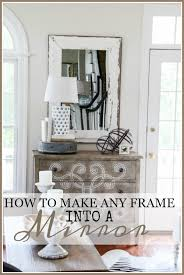 how to make any frame into a mirror