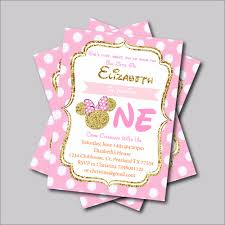 14 Pieces Lot Minnie Mouse Anniversaire Invitation Mickey Minnie