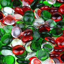 decorative glass beads
